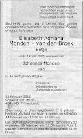Monden-van den Broek, Elisabeth Adriana Rouwadvertentie.jpg