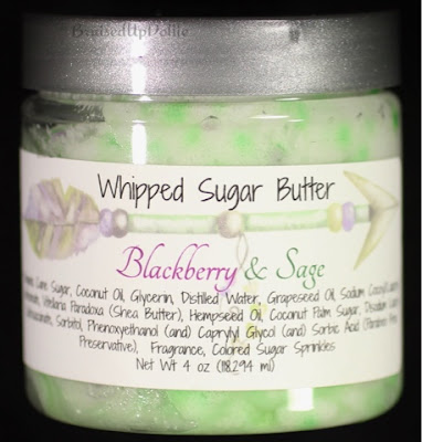 Love & Lotus Whipped sugar butter