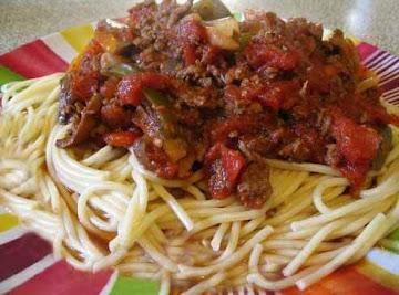 All Day Spaghetti Sauce Recipe