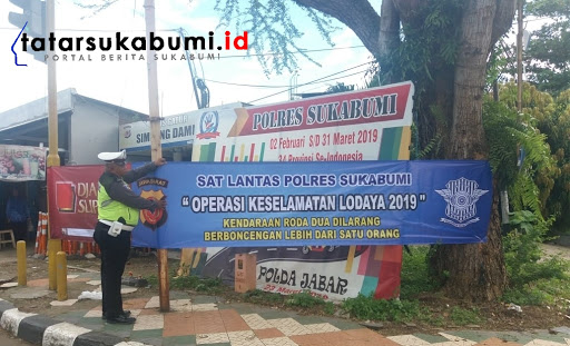 9 Sasaran Utama Operasi Keselamatan Lodaya 2019 Polres Sukabumi