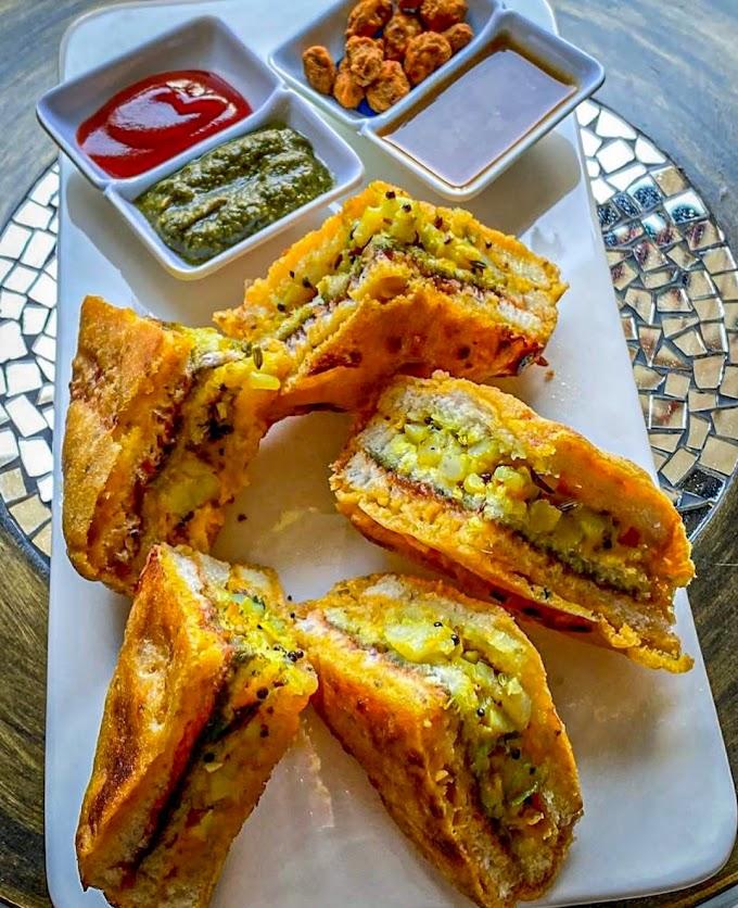 Bread Pakora/ Aloo Stuffed Bread Pakora Recipe | Breakfast Care