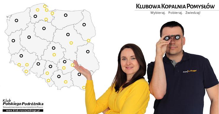 1000+ darmowych przewodników po Polsce! Zebraliśmy je w Klubowej Kopalni Pomysłów