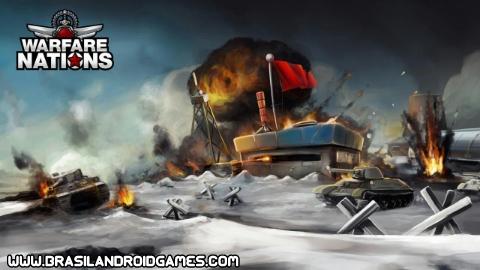 Warfare Nations Imagem do Jogo