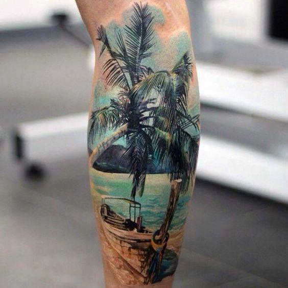 realista_palmeira_antebraço_tatuagem
