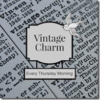 vintage charm button 2