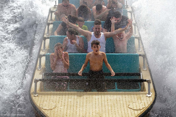 Atracció Tutuki Splash. Parc Temàtic Port Aventura. Vila-seca / Salou, Tarragonès, Tarragona