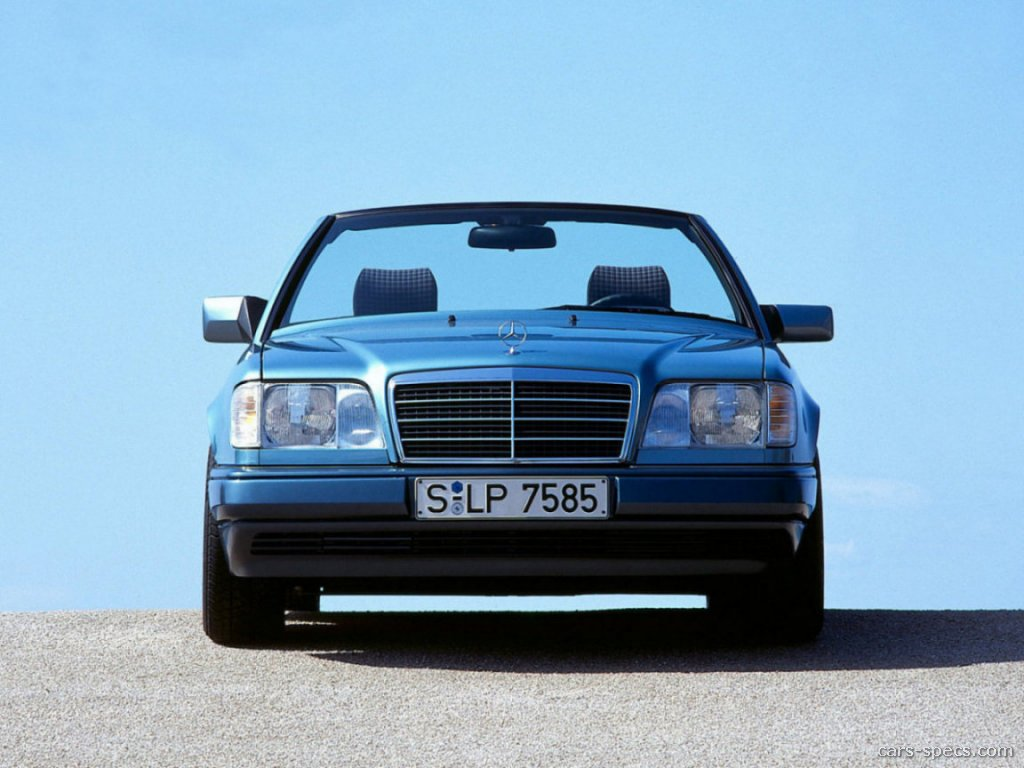 1995 mercedes benz e class convertible specifications for 1995 mercedes benz e class