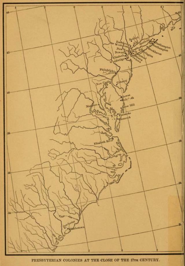 Presb USA map