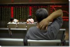 Crollo in Borsa