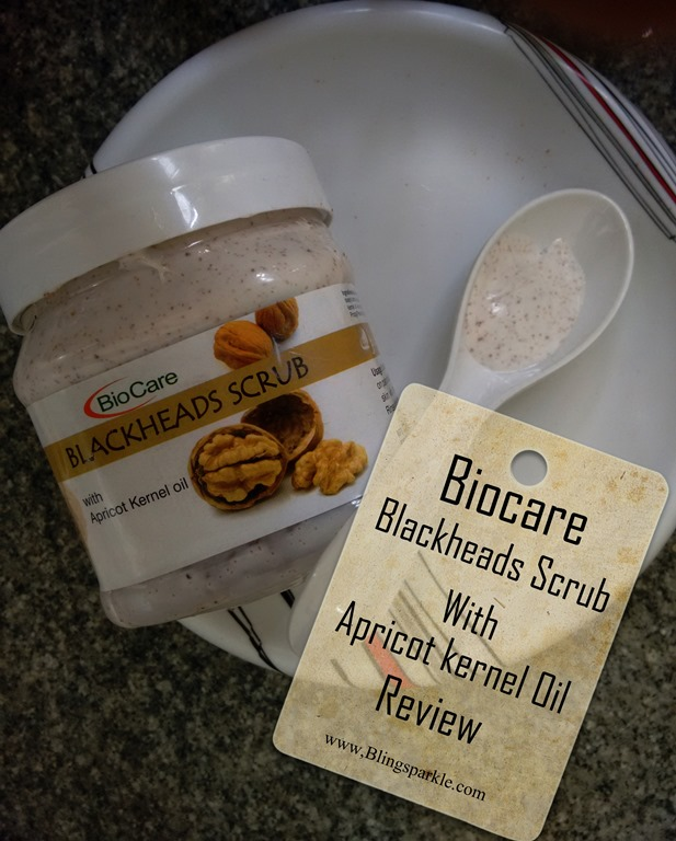 biocare blackheads scrub review