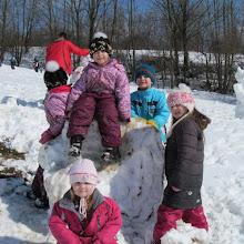 Zimní radovánky ve školce