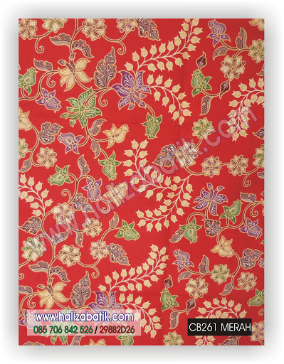 CB261%252520MERAH Jual Batik Online, Batik 2015, Desain Batik, CB261 MERAH