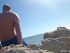 Ich auf dem Felsen ;)