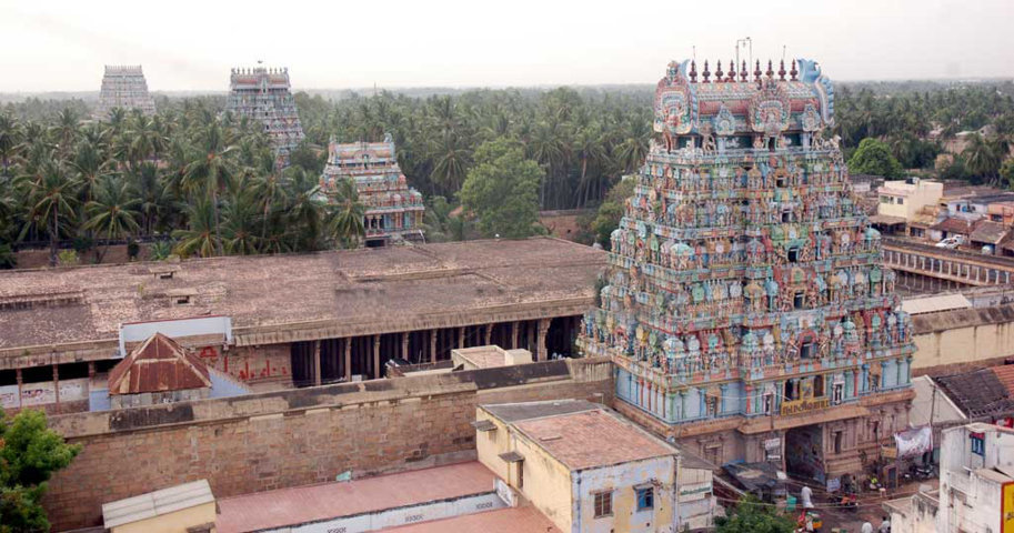 Sri Jambukeswarar Temple, Thiruvanaikaval, Trichy - 275 Shiva Temples