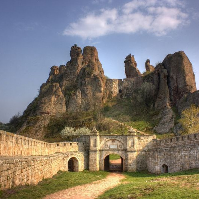 The Belogradchik Fortress, Bulgaria