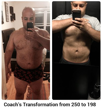 Coach's Transformation from 250 to 198