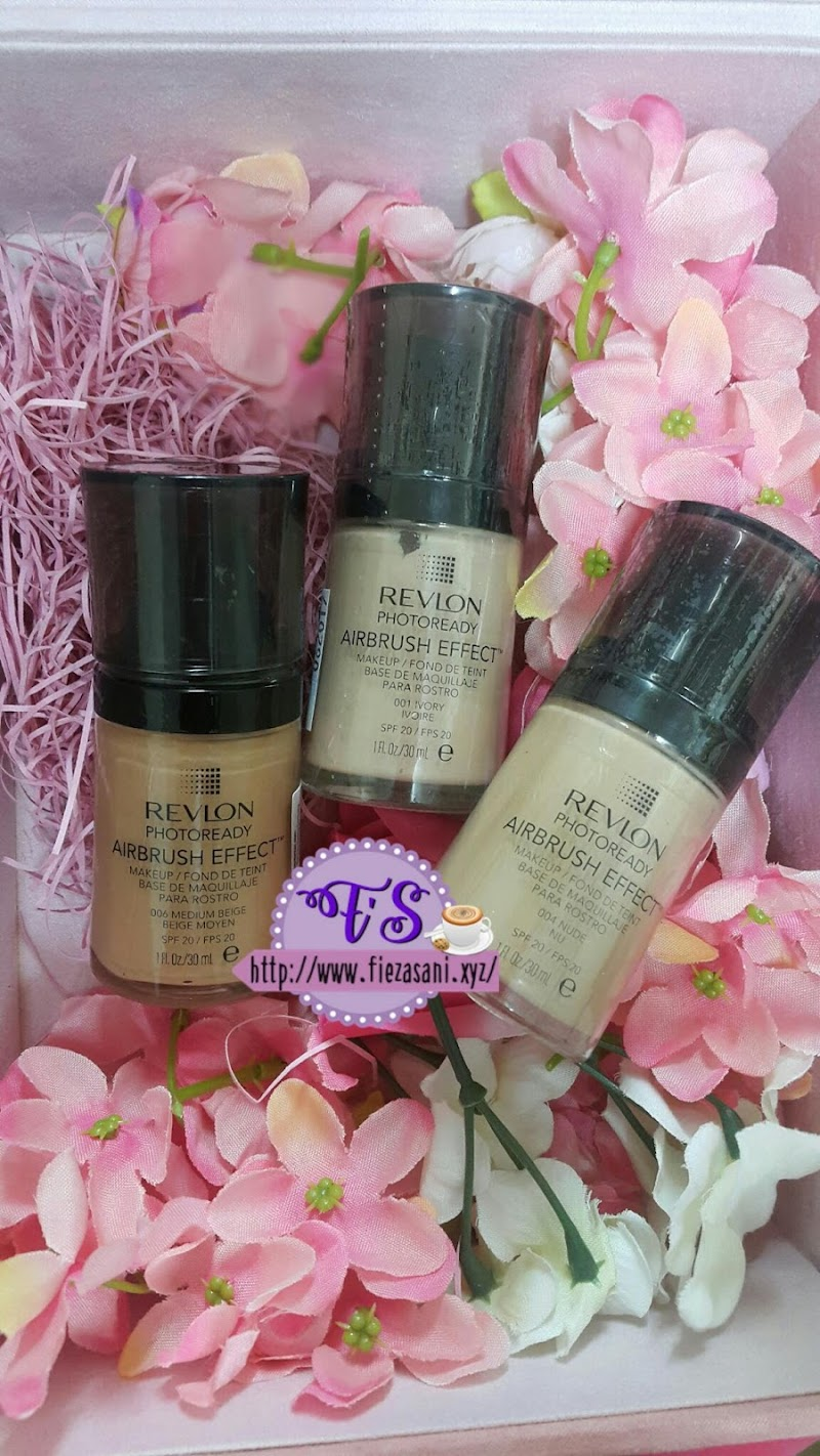 Foundation Revlon Airbrush Effect dan Tips Pemilihan Warna Foundation