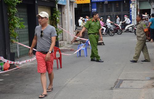 Hinh anh: Hien truong vu an duoc cong an phong toa de dieu tra Anh eSon Hoae