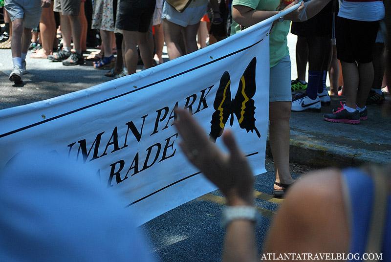 Инман парк: парад