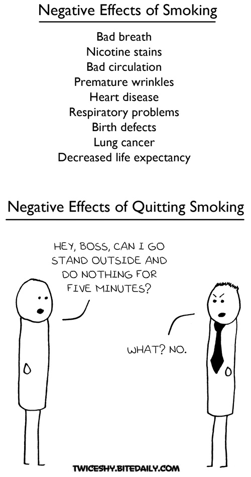 """negative effects of smoking essay Cause and effect essay: bad effects of smoking """"smoking is bad for health"""" it is a very familiar slogan that you can easy to see in all pack of cigarettes and in public places however, there is a fact that, despite knowledge about smoking damage, the number of people who smoke is increasing day by day."""