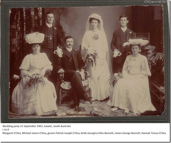 ODea Bennett wedding 1907