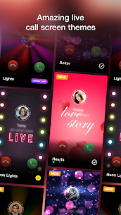 Call Screen Themes With Flashlight On Call 6