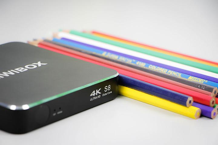 Kiwibox S8 Android TV Box