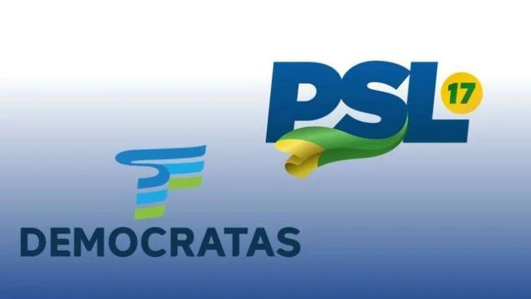 'NOIVOS', DEM E PSL AVANÇAM EM PROCESSO DE UNIÃO
