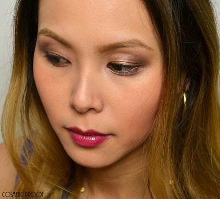 Too Faced Natural Eyes Hard Candy Review Swatches Makeup Look (4)