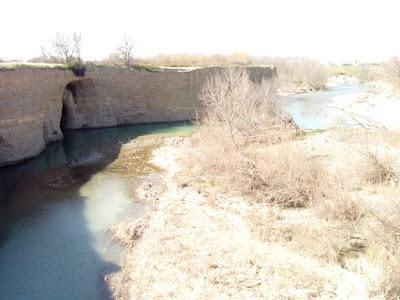 Peña del Cuervo, zona de baño natural en Zaragoza