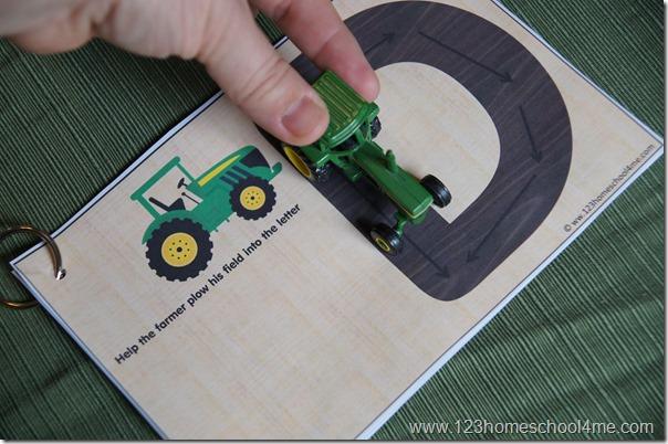 hands on letter practice kids activity for toddler preschool