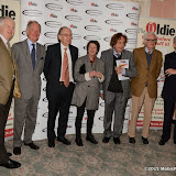OIC - ENTSIMAGES.COM - Ian Lavender, Michael Buerk, Lord Faulkner, Bridget Riley, Ken Dodd and Gyles Bradreth at the The Oldie of the Year Awards in London 3rd February 2015 Photo Mobis Photos/OIC 0203 174 1069