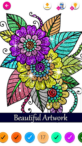 Download Glitter Color By Number Happy Coloring Book Free For Android Glitter Color By Number Happy Coloring Book Apk Download Steprimo Com