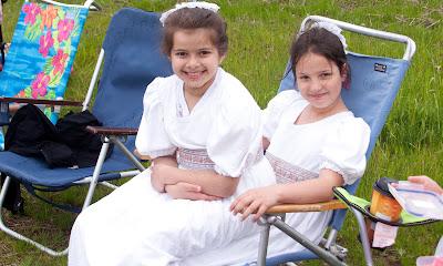 Asha Shetler and Natalie Francesco of  Glen Rock,