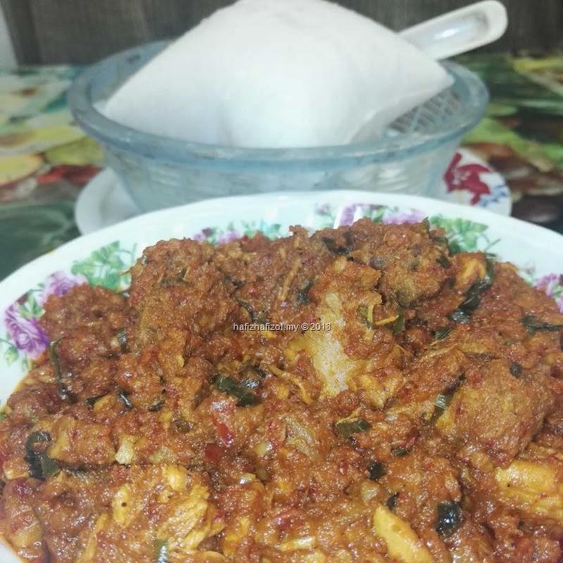 Resepi Rendang Ayam Mudah & Sedap Versi Dapur Bujang :P