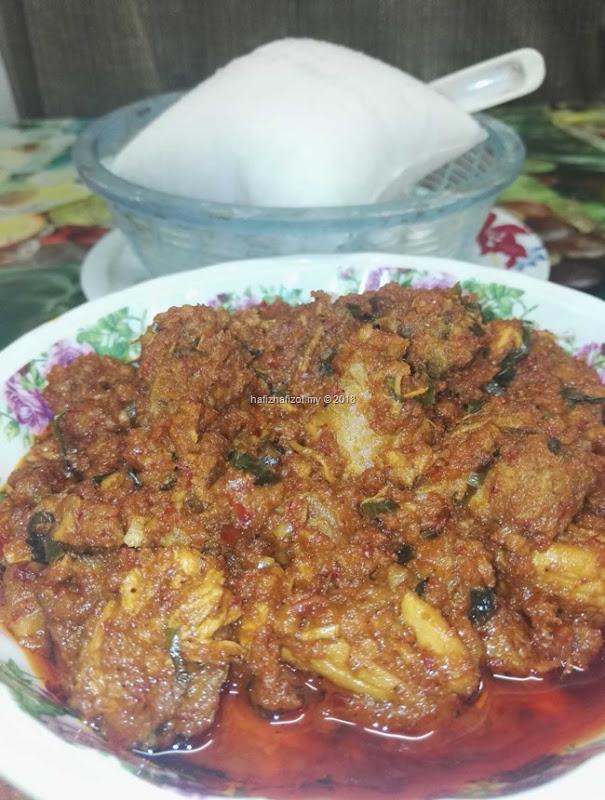 Resepi Rendang Ayam Mudah dan Sedap
