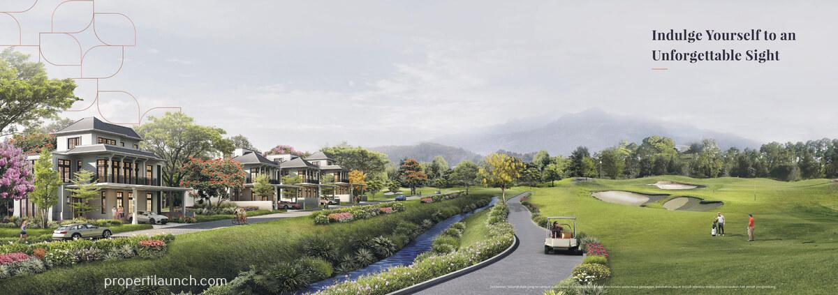 Cluster Rosewood Sumbog sebelah Lapangan Golf