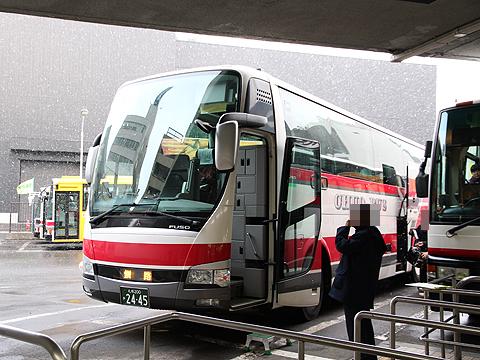 北海道中央バス「スターライト釧路号」 2445 中央バス札幌ターミナル改札中
