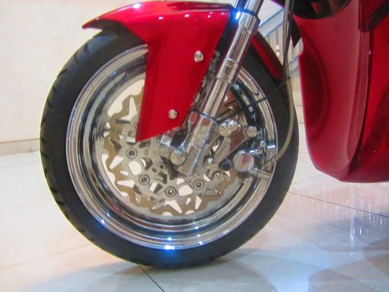 Modifikasi Motor Vario Techno Drag