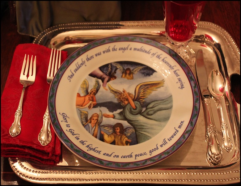 Heavenly Host Plate