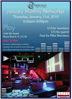 January Monthly Networker at Play