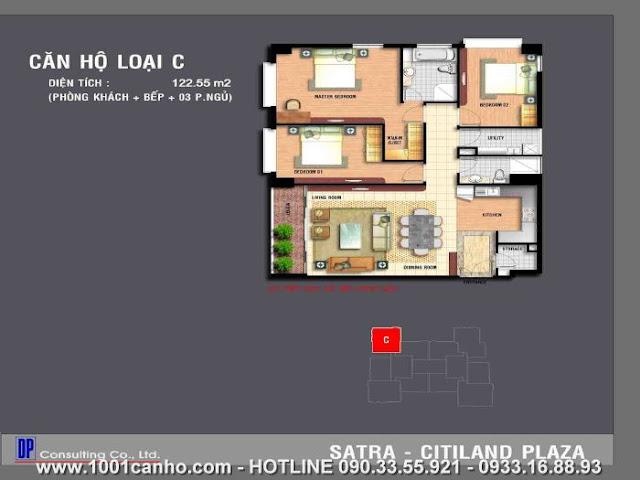 Cho thuê nhiều căn hộ Satra Eximland Phan Đăng Lưu   Phú Nhuận