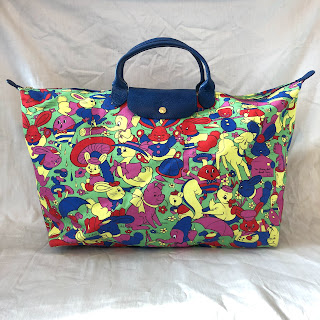Jeremy Scott x Longchamp ANIMALS Le Pliage Bag
