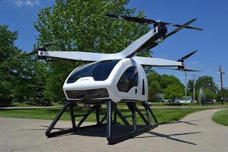 Workhorse SureFly 2-seater passenger drone