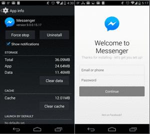 Cara keluar dari  Facebook Messenger di Smartphone Android Cara Keluar Dari Facebook Messenger di HP Android (🔥UPDATED)