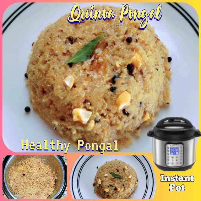 Instant Pot Quinoa Pongal