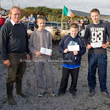 Winners of the Judging competition are presented with their prizes by Martin McGlynn (Achill Sheep Show Committee) at the 21st Achill Sheep Show (Taispeántas Caorach Acla 2007) at Pattens Bar Derreeens Achill, from left Martin McGinty Saula 1st; Dylan Henry, Belfarsad 2nd; and Tom McLoughlin, Claggan, 3rd. Photo: © Michael Donnelly
