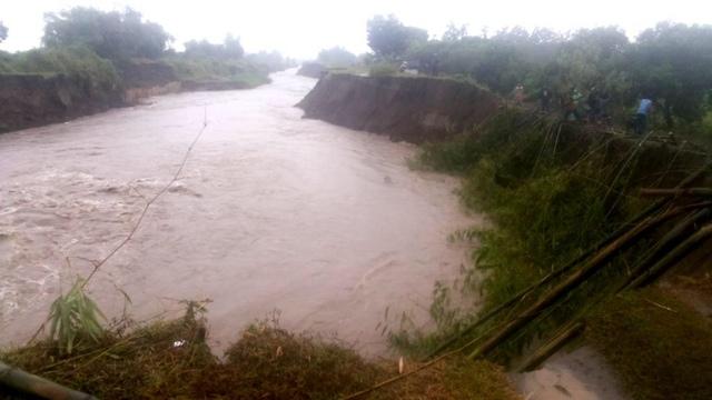 Tanggul Sungai Konto di Jombang Longsor, Ribuan Nyawa Terancam
