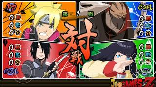 SAIUU!! NOVO (MOD) NARUTO Ultimate NINJA 5 ROAD TO Boruto (Naruto HEROES 3) LITE PARA ANDROID PPSSPP