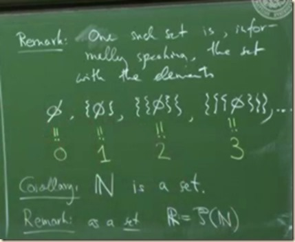 physics set theory axiom infinity 3